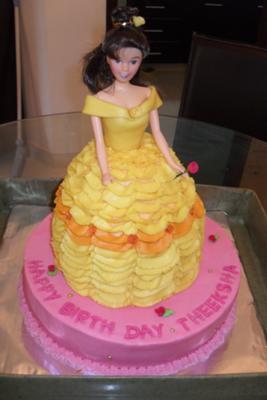 Princess Belle Cake