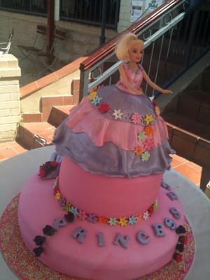 Princess Esha Cake