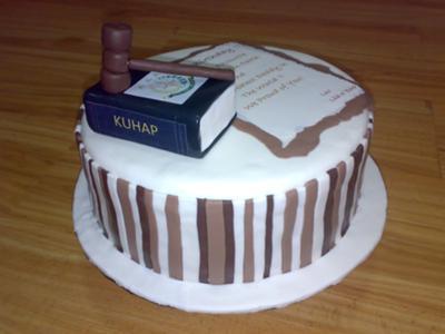 Prosecutor Cake