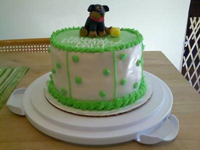 Cakes gone to the dogs!