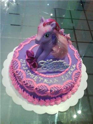 Purple Poney American Chocolate Cake