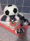 Rangers Football Cake