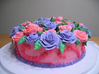 Wilton Blass 1 Cake