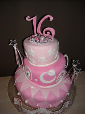 Sweet 16 Birthday Cake Ideas