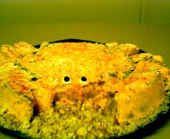 Sandy Crab Cake