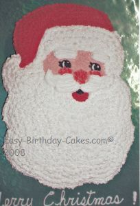 Santa Claus Cake With Pictures And Instructions