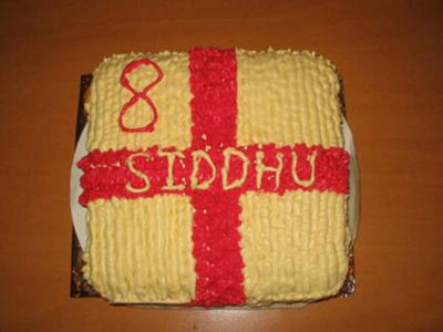 Soccer Team Birthday Cake