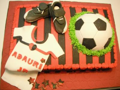 Soccer Time Fan Cake