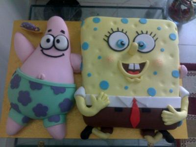Spongebob and Patrick Cake