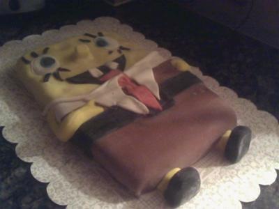 Smile Spongebob Cake