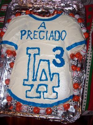 Sports Jersey Cake