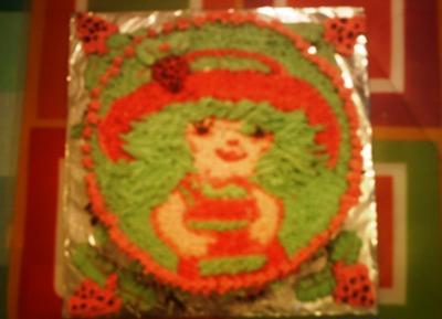 My Strawberry Shortcake Birthday Cake
