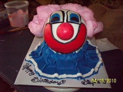 3D Clown Cake