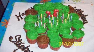 Cupcake Shamrock
