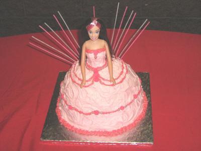 Strawberry Princess Cake