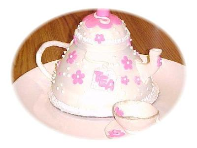 Tea Party Time Cake