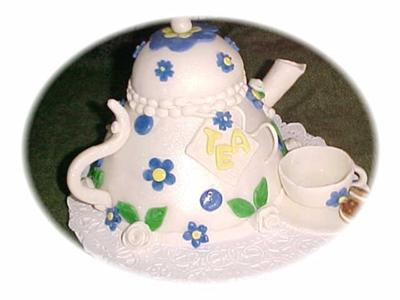 Tea Time Teapot Cake