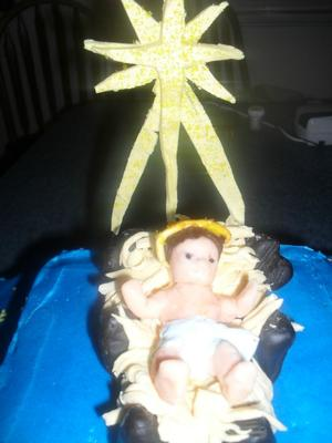 Manger with Jesus