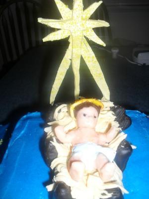 Manger with Jesus