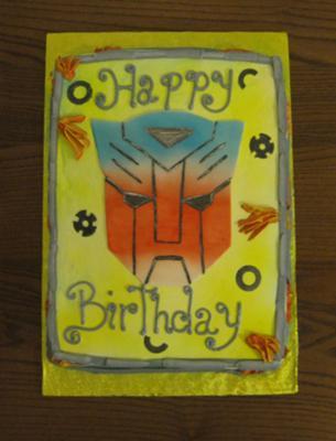 Transformer Cake -  http://www.myspace.com/wcakes