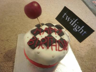 Twilight Birthday Cake