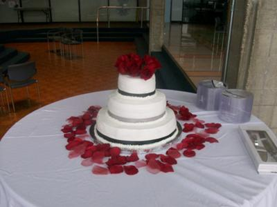 Valentines Day Wedding Cake