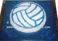 volley ball birthday cake pictures