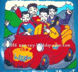 Wiggles Cake Decoration