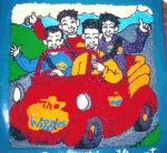 Wiggles in car cake