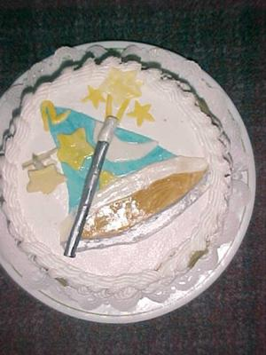 Wizard Hat Cake