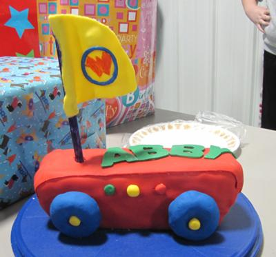Wonder Pets Fly Boat Cake