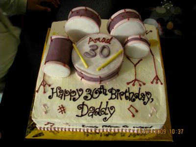 Stupendous 3D Drums Set Cake Funny Birthday Cards Online Bapapcheapnameinfo