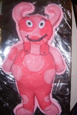 Backyardigan's Uniqua Cake