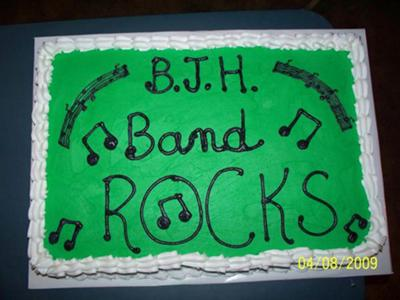 Band Party Cake