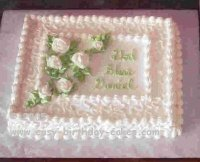 baptism cakes - sheet cake