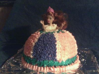 Princess Barbie Cake