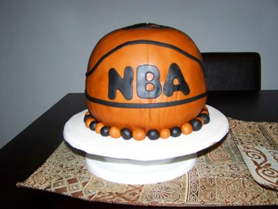 Pleasing Basketball Birthday Cake Funny Birthday Cards Online Unhofree Goldxyz