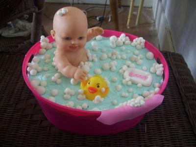 Bathtime Bubbles Cake