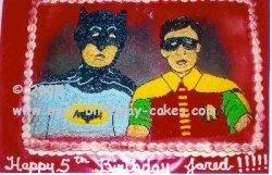 batman picture cake