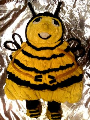 Bee Movie Birthday Cake
