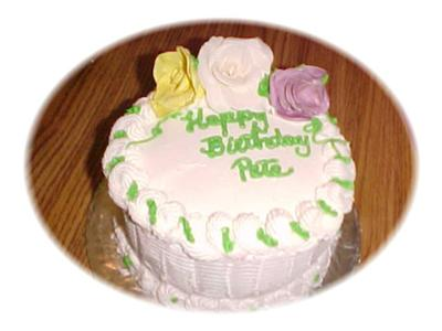 Pete's Birthday Cake