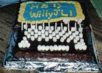 :) Laptop Birthday Cake :)