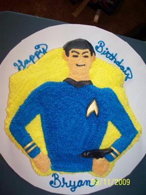 Spock Cake