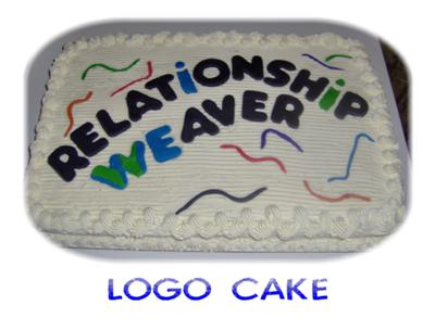 Business Logo Cake