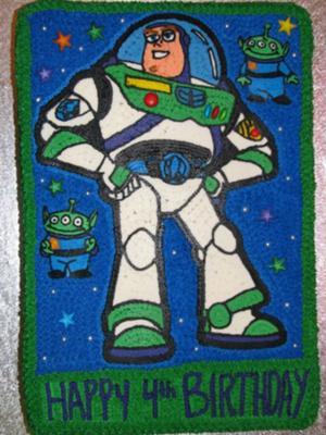 Spaceranger Joel Loved This Buzz Lightyear Cake!