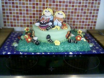 Charlie and Lola Cake