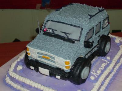 Chevy Tahoe Cake