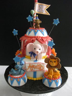 Circus Fun Cake