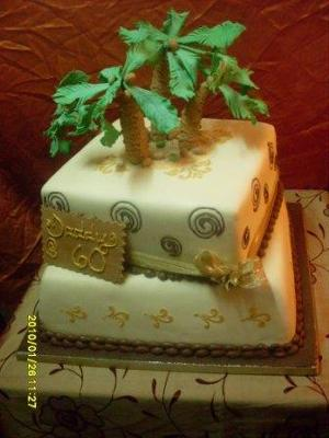 Coconut Tree Cake