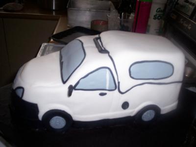 Corsa Bakkie - 2008 Model Cake